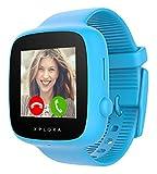 XPLORA GO - Teléfono reloj para niños (SIM no incluida) - Llamadas, mensajes, modo colegio, botón...