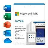 Microsoft 365 Familia | Suscripción anual | Para 6 PCs o Macs, 6 tabletas incluyendo iPad, Android,...