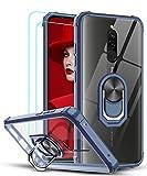 LeYi Funda Xiaomi Redmi 9 con [2-Unidades] Cristal Vidrio Templado,Transparente Carcasa con 360...