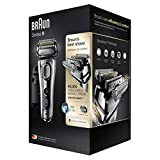 Braun Series 9 9290 cc - Afeitadora eléctrica para hombre de lámina, en húmedo y seco, máquina...