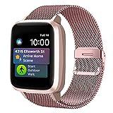 Funbiz Metal Correa Compatible con Apple Watch 38mm 40mm 42mm 44mm, Pulsera de Repuesto de Acero...