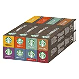 Starbucks Variety Pack De Nespresso Cápsulas De Café 8 X Tubo De 10Unidades