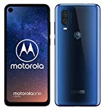 Motorola One Vision - Smartphone Android One (4 GB de RAM, 128 GB, cámara 48 MP Quad Pixel,...
