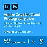 Creative Cloud Photography plan with 20GB | 1 Año | PC/Mac | Código de activación enviado por...