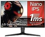 LG 27GL850-B - Monitor Gaming QHD de 68.6 cm/27', con Panel NanoIPS (2560 x 1440 píxeles, 16:9, 1...