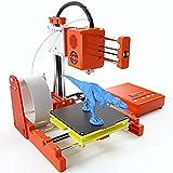 WZTO Impresora 3D,Mini Impresora 3D Portátil con Filamento PLA de 10m,Placa de Construcción...