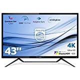 Philips monitor 436M6VBPAB/00 - Monitor 4K de 43' (resolución 3840 x 2160 píxeles, 4K Ultra HD,...