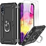 LeYi Funda Samsung Galaxy A50 / A30S / A50S con [2-Unidades] Cristal Vidrio Templado,Armor Carcasa...