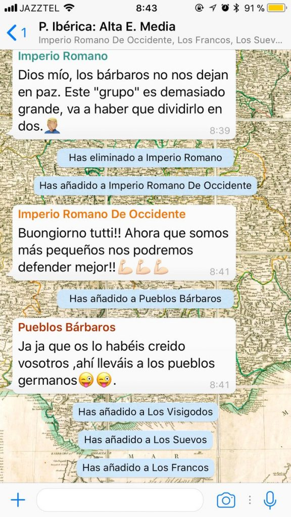 historia whatsapp