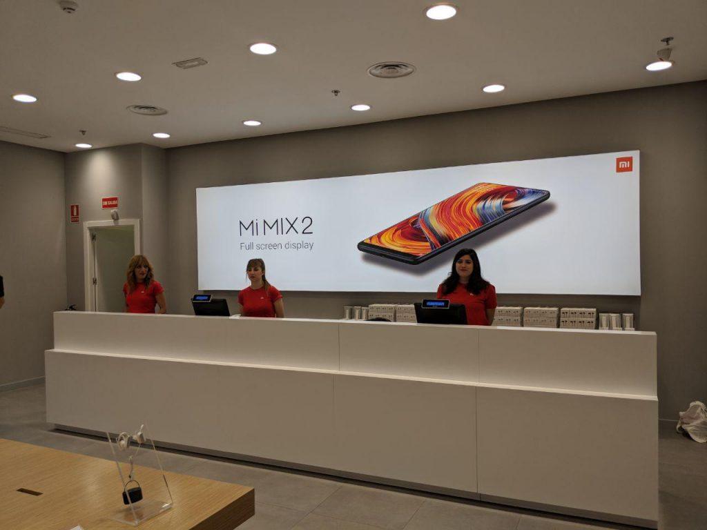 Tienda de Xiaomi en La Vaguada