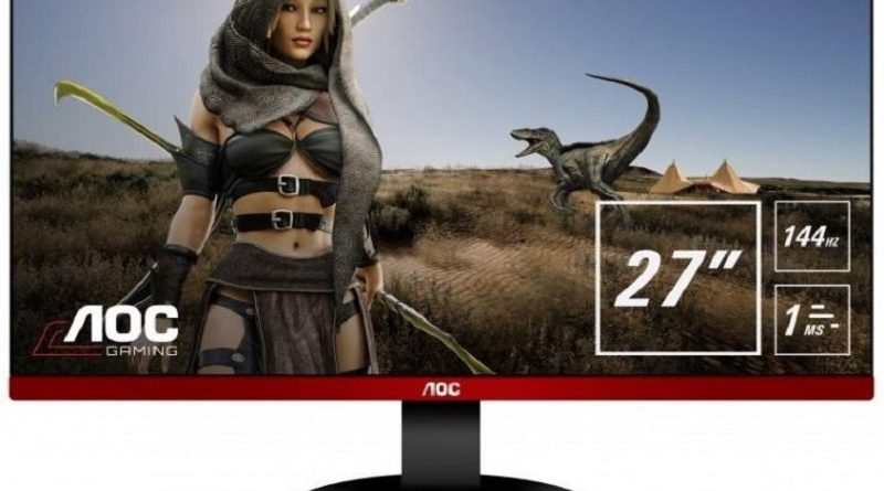 Monitores AOC para gamers