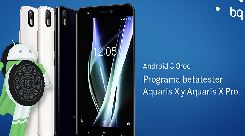 Android Oreo en BQ Aquaris X
