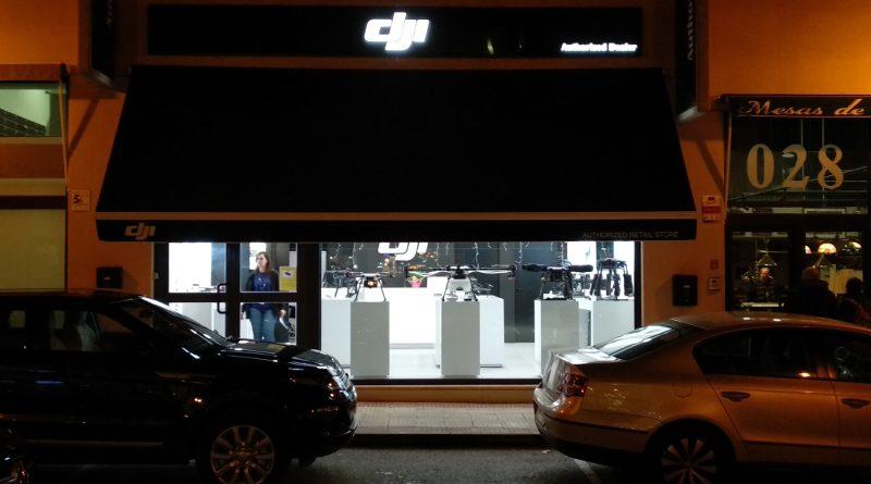 Fachada tienda DJI en Madrid