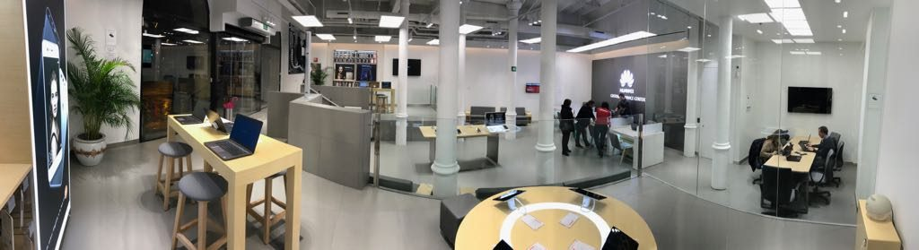 Centro de Experiencia Huawei