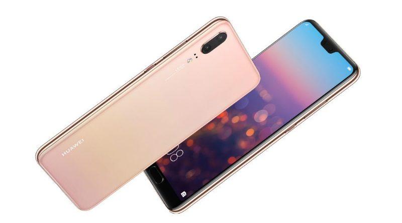 Huawei P20 en rosa