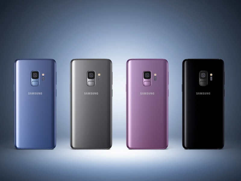 Samsung Galaxy S9 de importacion