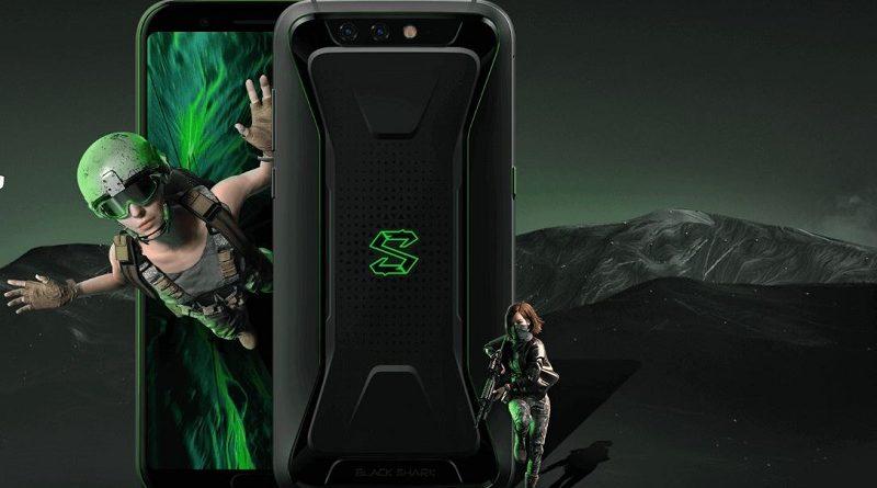 pantalla del Xiaomi Black Shark smartphone gaming de Xiaomi