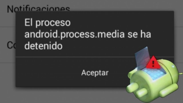 se ha detenido el proceso com·android·phone
