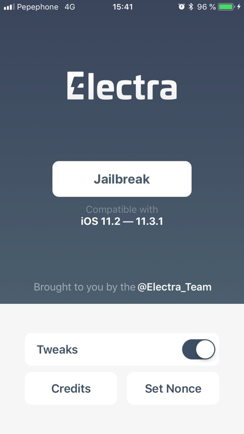 Jailbreak de iOS 11.3.1 sin PC