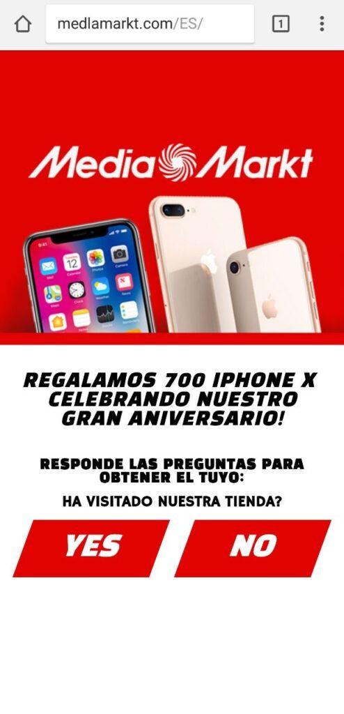 mediamarkt regala 700 iphone x