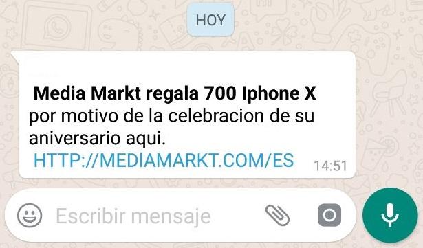 Media Markt regala 700 iPhone X