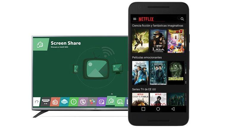 duplicar pantalla de móvil en tv