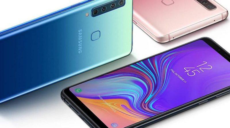 cámara del Samsung Galaxy A9