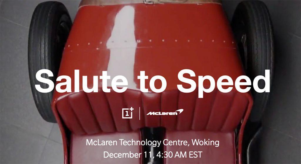 OnePlus y McLaren