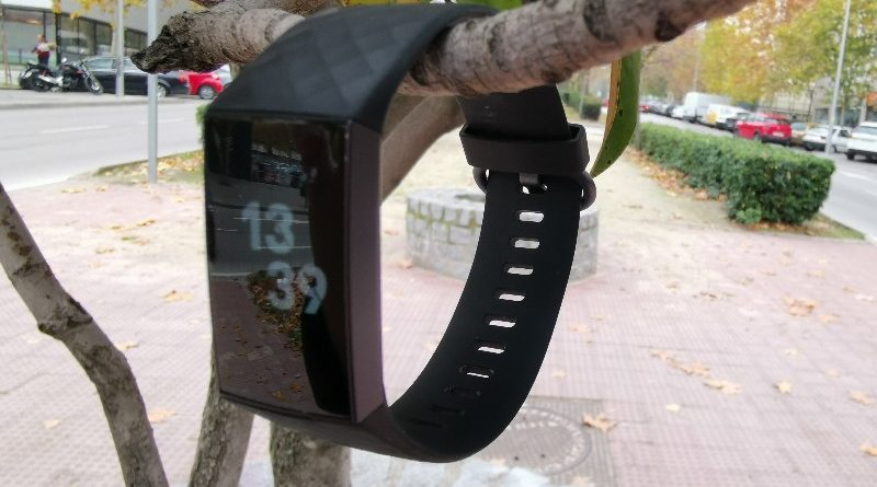 Fitbit charge 3 arbol