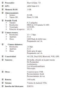 Honor-10-lite-tabla-especificaciones