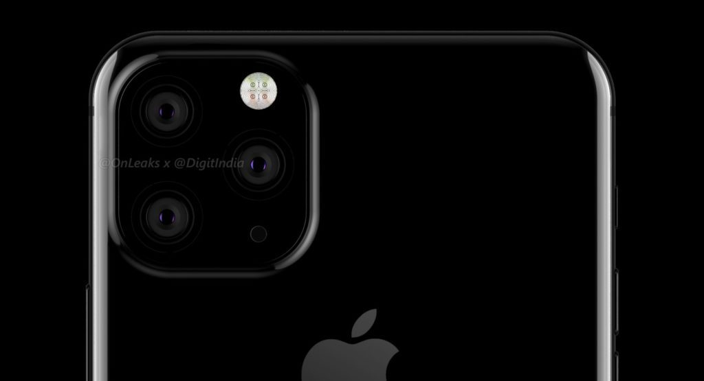 Triple cámara en el iPhone 2019