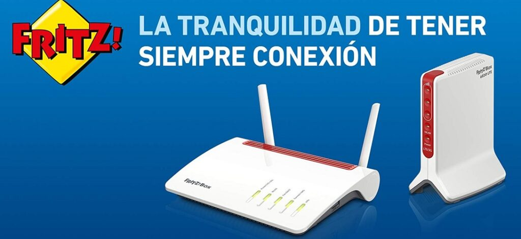 FRITZBOX ROUTER LTE