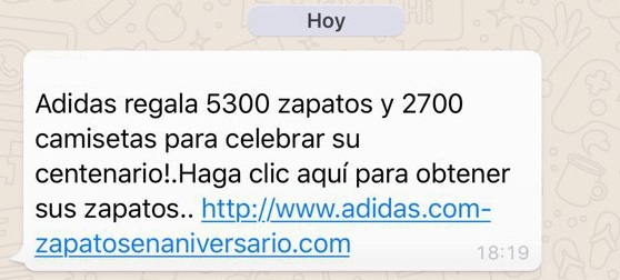 Adidas regala 5300 zapatos