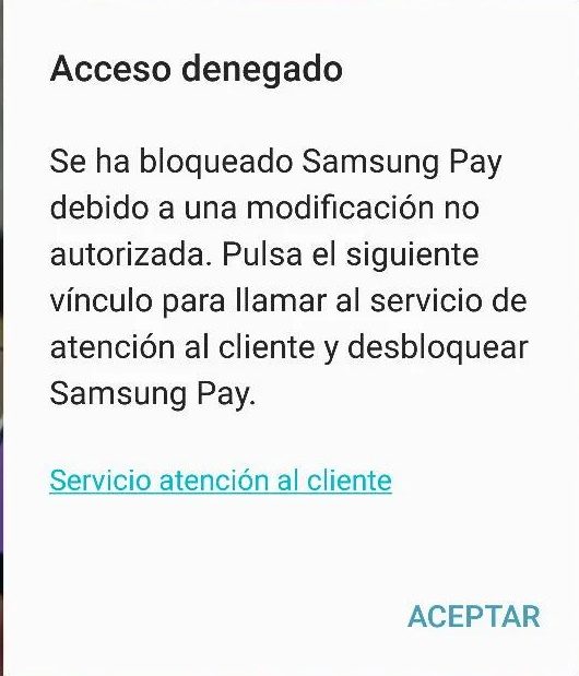 error samsung pay