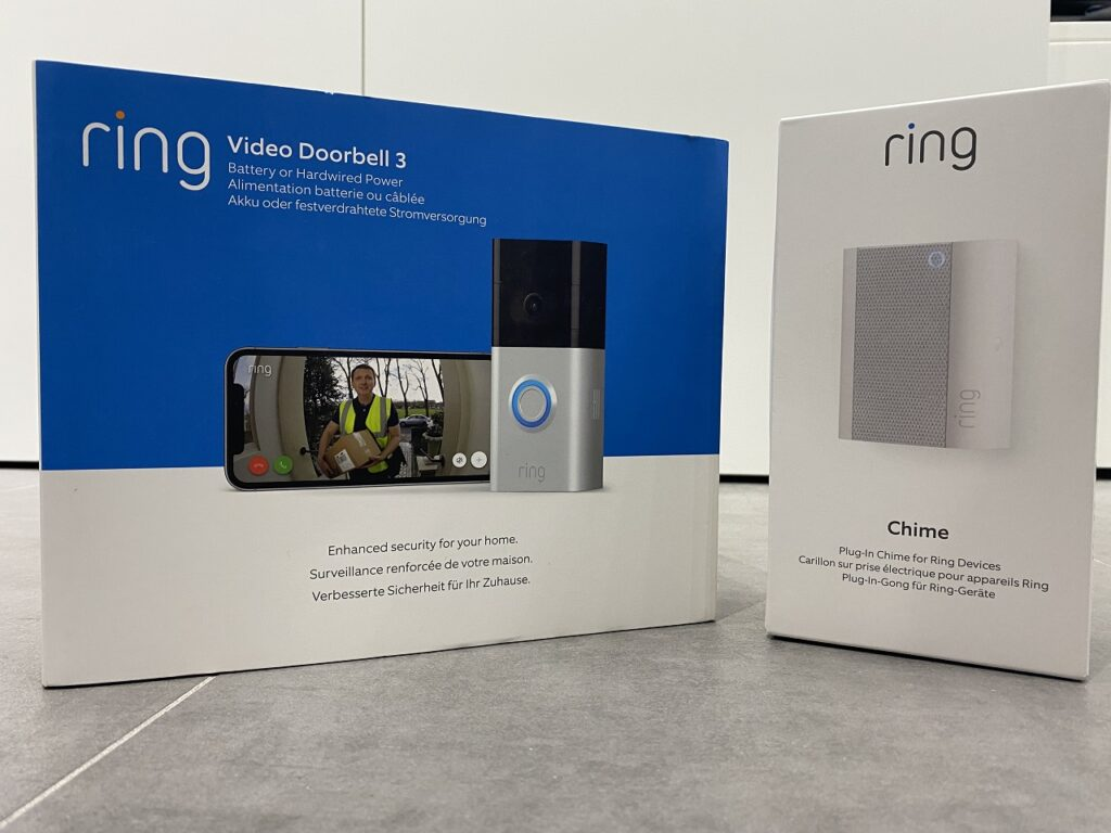 Ring Doorbell 3 y Ring Chime